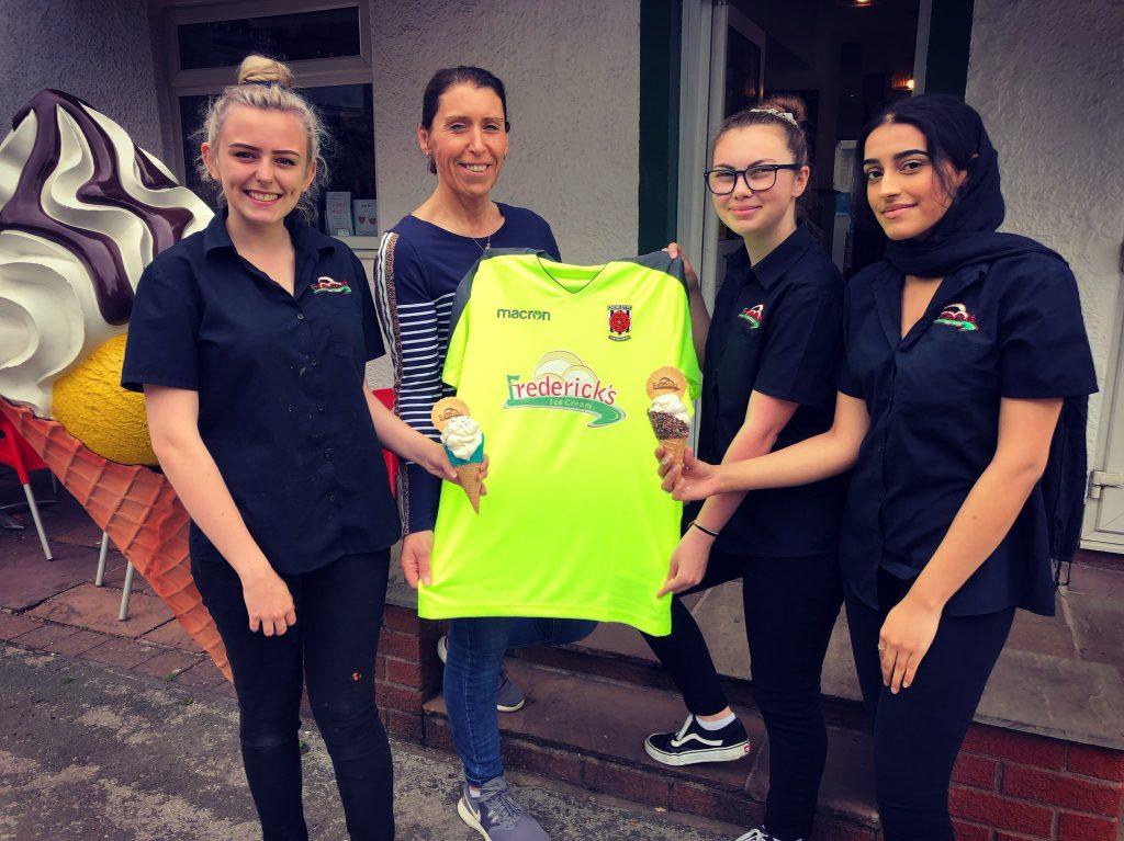 Frederick S Support Third Kit For Chorley Fc Fredericks